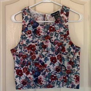 Cute crop top blouse